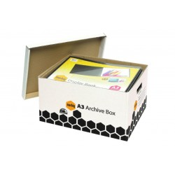 Marbig Archive Box A3 White