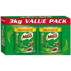 Nestle Milo 1.5kg Tin Twin...