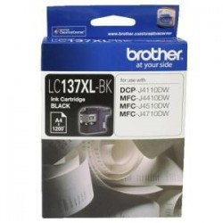 Brother LC137XL Black Ink Cart