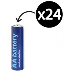 Staples X-Cell Aa Battery...