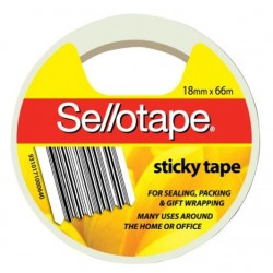 Sellotape Sticky Tape 18mm...