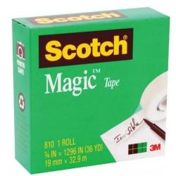 Scotch Magic Tape 810 19mm...