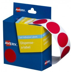 Avery Red Circle Dispenser...