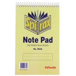 Spirax 563A Notebook...