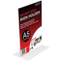 Deflecto Sign Menu Holder...