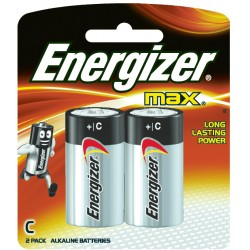 Energizer Max Battery C 2...