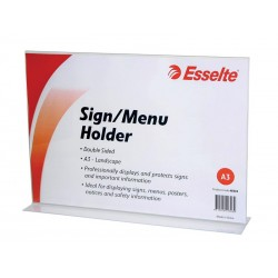 Esselte Sign / Menu Holder...