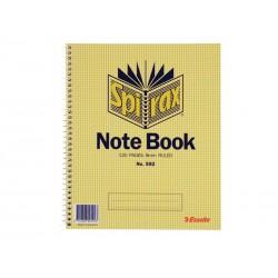 Spirax 592 Notebook Side...