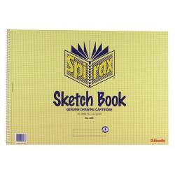 Spirax Sketch Book No.533...