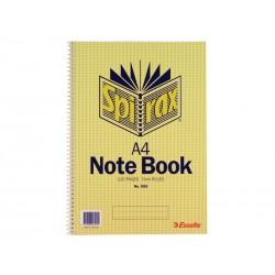 Spirax 595 Notebook A4 Side...