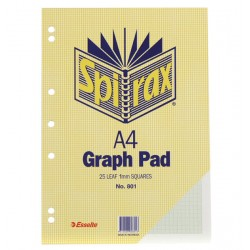 Spirax No.801 Graph Pad A4...