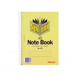 Spirax 571 Notebook A5 300...