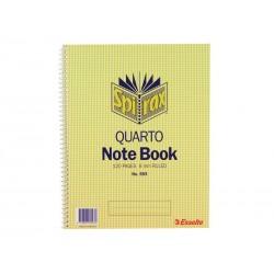 Spirax 593 Notebook Quarto...