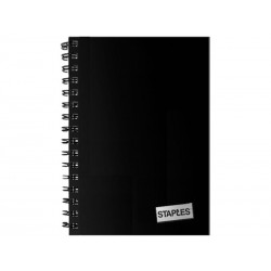 Staples Spiral A6 Notebook...