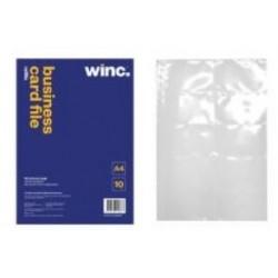 Winc Business Card File A4...