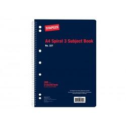 Winc Spiral 3 Subject Book...