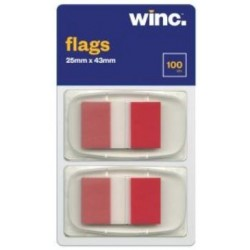 Winc Flags 25 x 43mm Red...