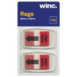 Winc Flags 24X43mm Sign...