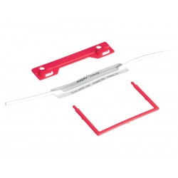Avery File Fastener Red Pkt 10