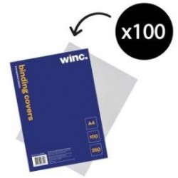 Winc Transparent A4 Binding...