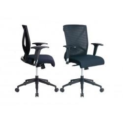 Air Mesh Black Fabric Seat...