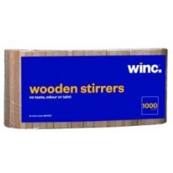 Winc Stirrers Wooden Pack 1000