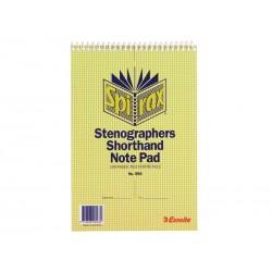 Spirax 566 Steno Notebook...