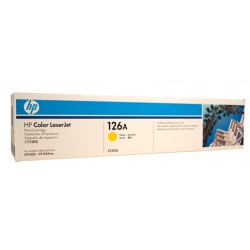 HP #126A Yellow Toner CE312A
